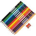 Pritt Jumbo Kuru Boya Kalemi Üçgen Karışık Renk 12'li Paket