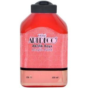 Art Deco Akrilik Boya Kırmızı 500 ml