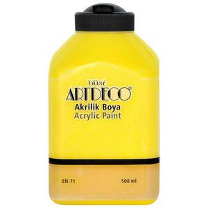 Art Deco Akrilik Boya Sarı 500 ml