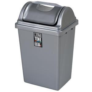 Bora Plastik Köşeli Çöp Kovası İtmeli No:3 14 lt