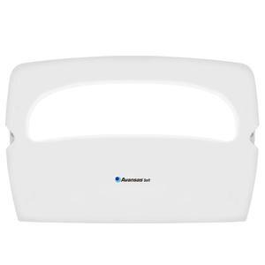 Avansas Soft Klozet Kapak Örtüsü Dispenseri Beyaz