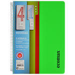 Keskin Color Ecomax A4 Seperatörlü PP Kapak Defter 150 Yaprak