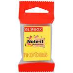 Globox Yapışkanlı Not Kağıdı 37.5 mm x 50 mm Sarı 100 Yaprak