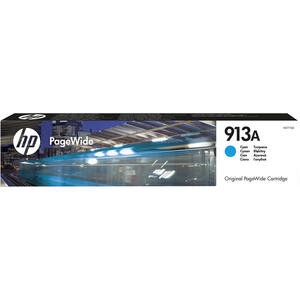 HP 913A Yüksek Kapasiteli Pagewide Mavi (Cyan) Kartuş F6T77AE