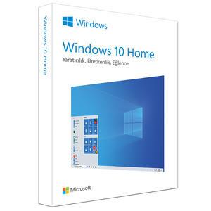 Microsoft Windows 10 Home 32/64Bit Türkçe Kutu Lisans