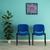 Avansas Comfort Çok Amaçlı 4'lü Misafir Sandalyesi Mavi