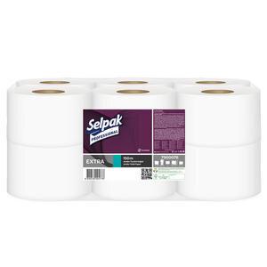 Selpak Professional Extra Jumbo Tuvalet Kağıdı 150 m 12'li Paket