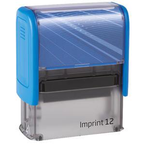 Trodat Imprint 12 Kaşe 47 mm x 18 mm Mavi