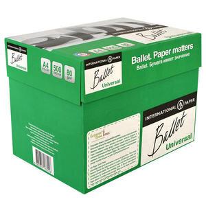 Ballet A4 Fotokopi Kağıdı 80 Gr 1 Koli (5 Paket)