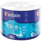 Verbatim 43787 CD-R Wrap Extra Protection 52X 700 MB 50'li Paket