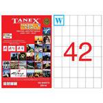 Tanex Tw-2154 Lazer Etiket 35 mm x 42 mm