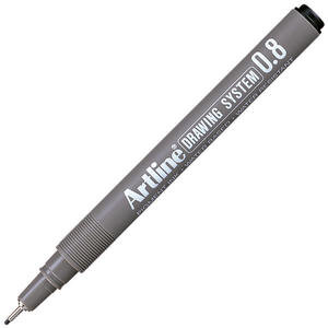 Artline 238 Çizim Kalemi 0.8 mm Siyah