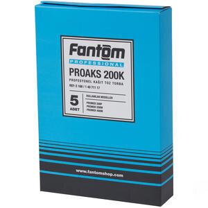 Fantom Proaks 200K Profesyonel Kağıt Toz Torbası 5'li Paket