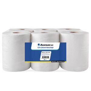 Avansas Soft İçten Çekmeli Kağıt Havlu 6'lı Paket