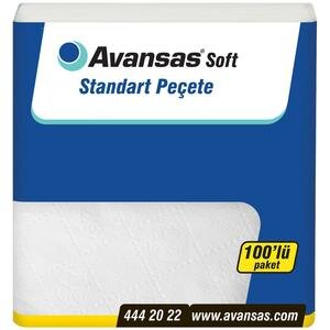 Avansas Soft Standart Peçete 100'lü Paket