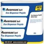 Avansas Soft Eco Masaüstü Dispenser Peçete 17 cm x 21 cm 12'li Koli