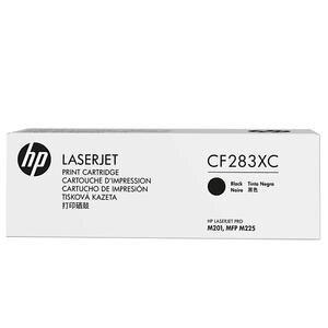 HP 83X Siyah Toner CF283XC