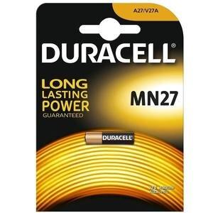 Duracell Alkalin MN27 27A 12 Volt Pil Tekli
