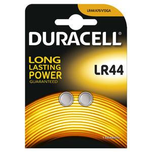 Duracell Alkalin LR44/AG13 Düğme Pil 1.5 Volt 2'li Paket