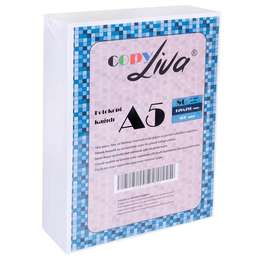 Copy Liva A5 Fotokopi Kagidi 80 Gr 1 Paket 500 Sayfa Avansas