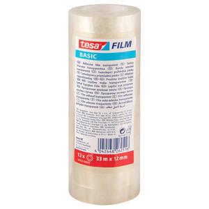Tesa 58552 Basic Bant 12 mm x 33 m 12'li Paket