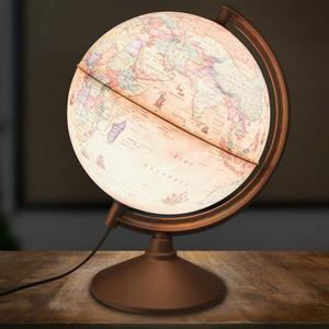 Globe 44261 Işıklı Antik Küre 26 cm
