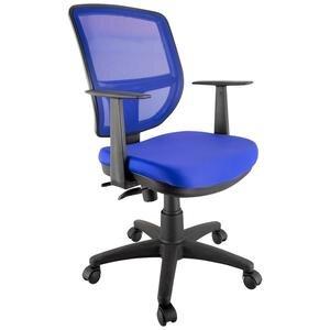 Mezura Ofis Max MX5072P Çalışma Koltuğu Mavi