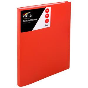 Wole Sunum Dosyası 20 Sayfa Kırmızı