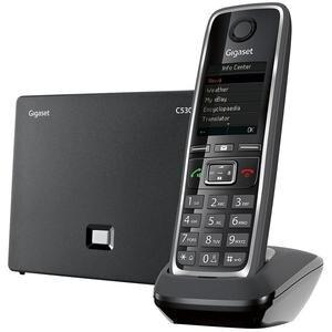 Gigaset C530 Telsiz (Dect) IP Telefon Siyah