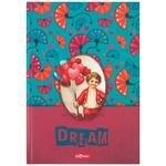 Le Color Gillart Sert Kapaklı Kareli Dream Defter 17 cm x 24 cm