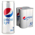 Pepsi Light 250 ml 4'lü Paket