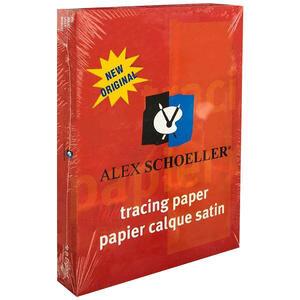Alex Schoeller Eskiz Tabaka Aydınger Kağıdı A4 50/55 gr 1 Paket (500 sayfa)