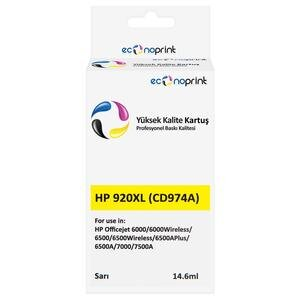 Econoprint HP 920XL Sarı (Yellow) Muadil Kartuş CD974A