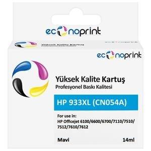 Econoprint HP 933XL Mavi (Cyan) Muadil Kartuş CN054A