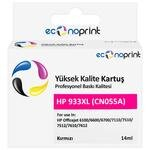 Econoprint HP 933XL Kırmızı (Magenta) Muadil Kartuş CN055A