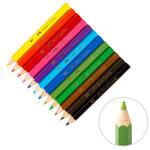 Faber Castel Karışık Renk Kuru Boya Kalemi 12'li Paket