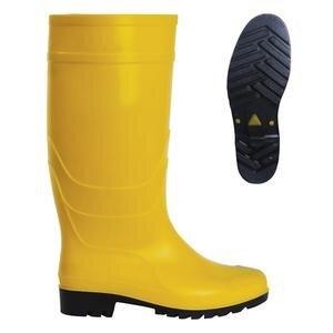 PVC Uzun Çizme Sarı No:43