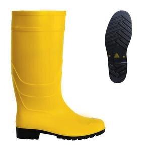 PVC Uzun Çizme Sarı No:41