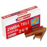 Bigpoint Zımba Teli No: 24/6 Sarı 1000'li Kutu