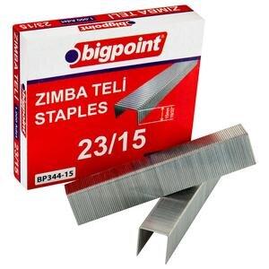 Bigpoint Zımba Teli No: 23/15 1000'li Kutu