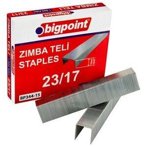Bigpoint Zımba Teli No: 23/17 1000'li Kutu
