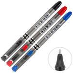 Globox İmza Kalemi 0.7 mm Karışık Renk 3'lü Paket