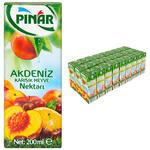 Pınar Meyve Suyu Akdeniz Kokteyli 200 ml 27'li Paket