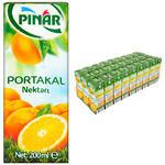 Pınar Meyve Suyu Portakal 200 ml 27'li Paket