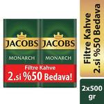 Jacobs Monarch Filtre Kahve 500 gr Alana 2.si %50 İndirimli