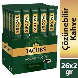Jacobs Monarch Stick Kahve 2 gr 26'lı Paket