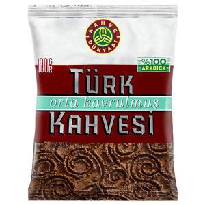 Kahve Dünyası Orta Kavrulmuş Türk Kahvesi 100 gr