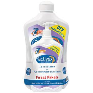 Activex Sıvı Sabun Hassas 1.8 lt + 700 ml