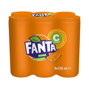 Fanta 250 ml 6'lı Paket