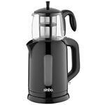 Sinbo STM-7000 Siyah Elektrikli Çay Makinesi